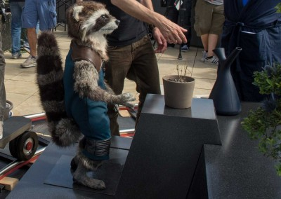 Rocket Raccoon Life size David White