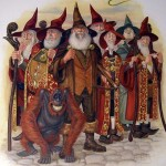 R.I.P Sir Terry Pratchett - Unseen University Wizards