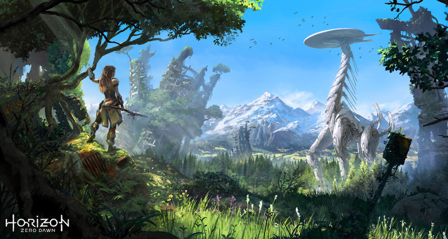 Horizon Zero Dawn-Suzanne Helmigh Interview-Concept Artist and Illustrator