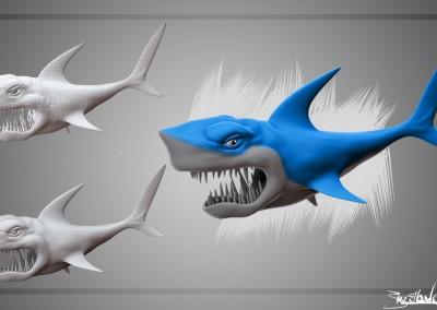 Shark - SpiderBot - Scott Mclellan
