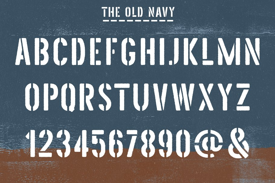 Top 10 Military Fonts 2019 (Army, Navy & Stencil