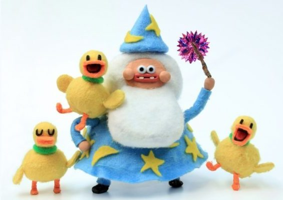 The Silly Duck Wizard by Terry Ibele (Stop Motion)