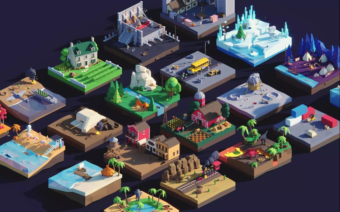 Top 10 Low Poly Models & Packs on the Unity Asset Store 2020