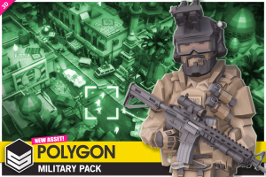 Low Poly Military Pack