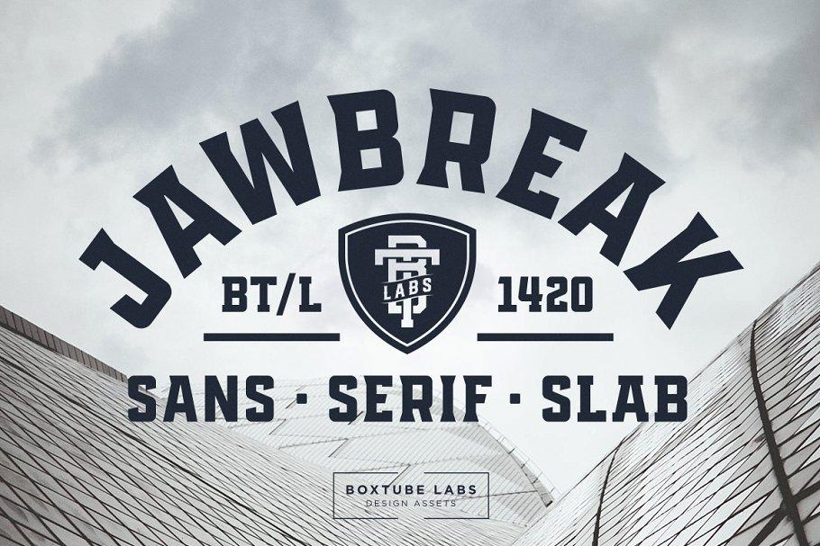jawbreak sports font