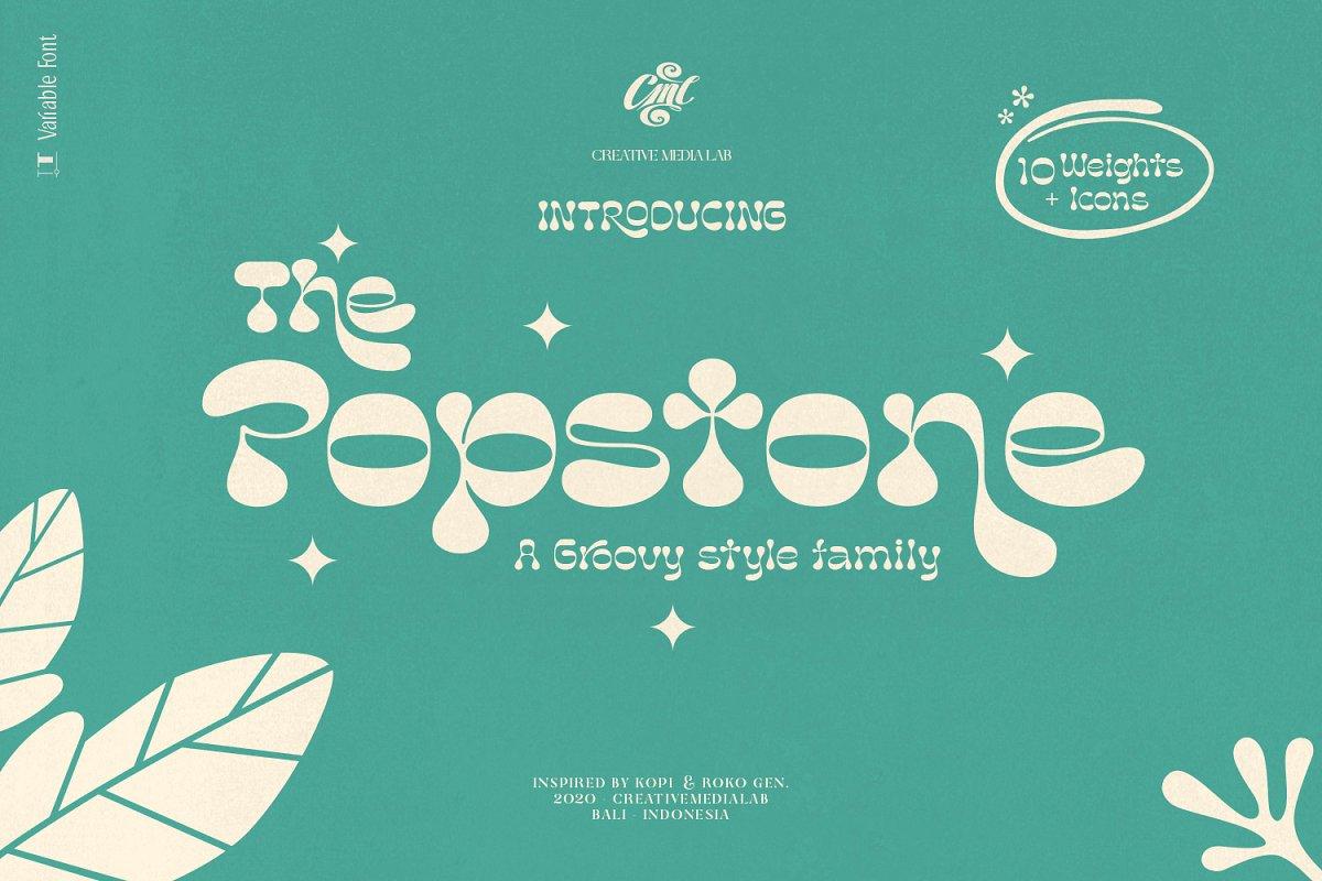 popstone font