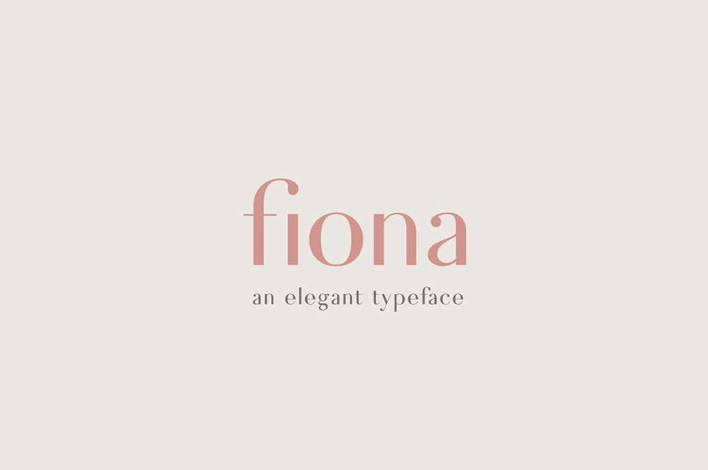 Fiona font