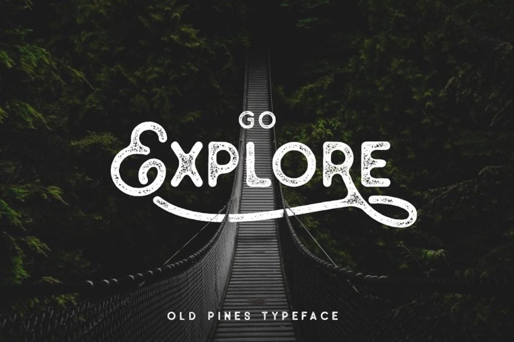 Go Explore Font