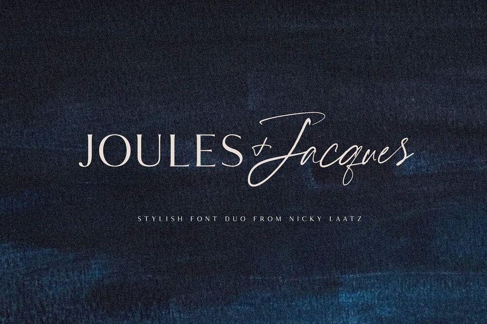 Joules et Jacques font