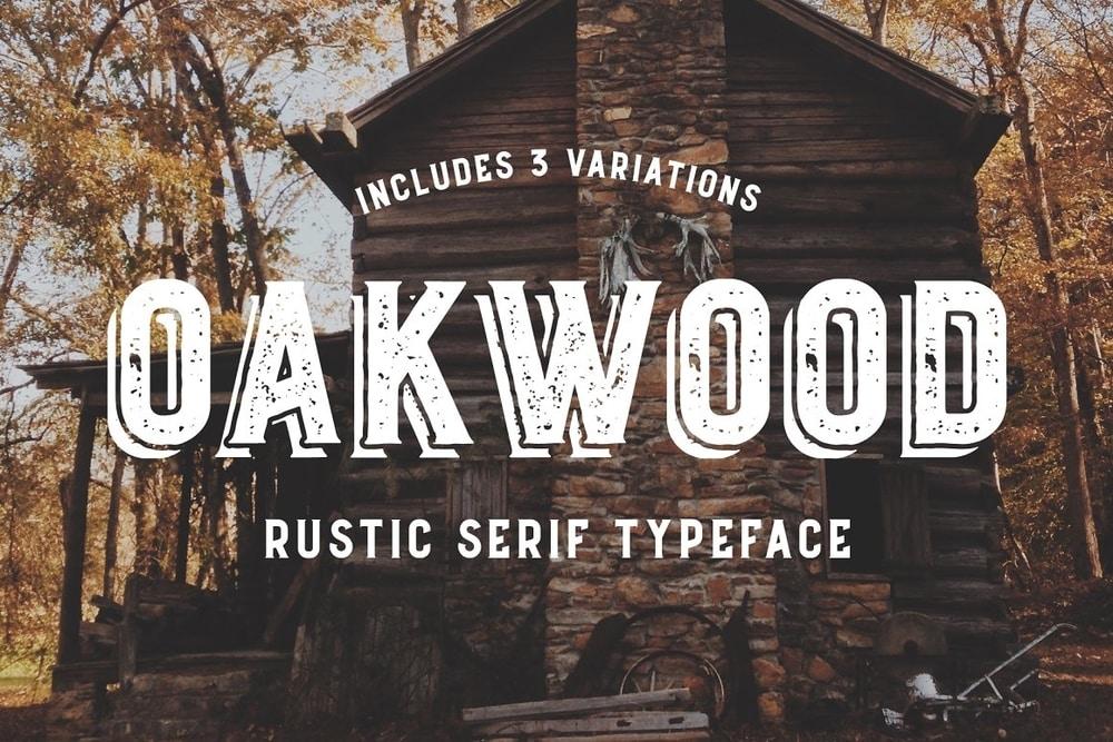 Oakwood font
