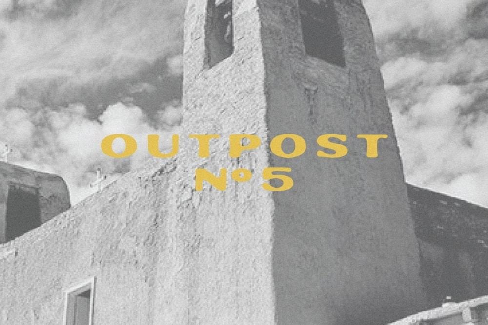 Western vintage font