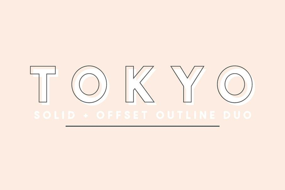Tokyo Famous Font