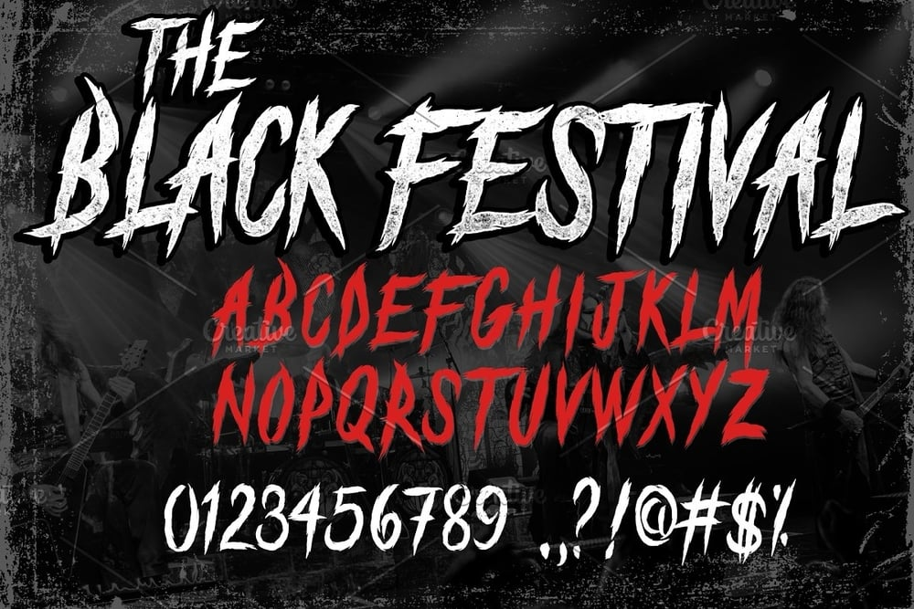 The Black Festival text example