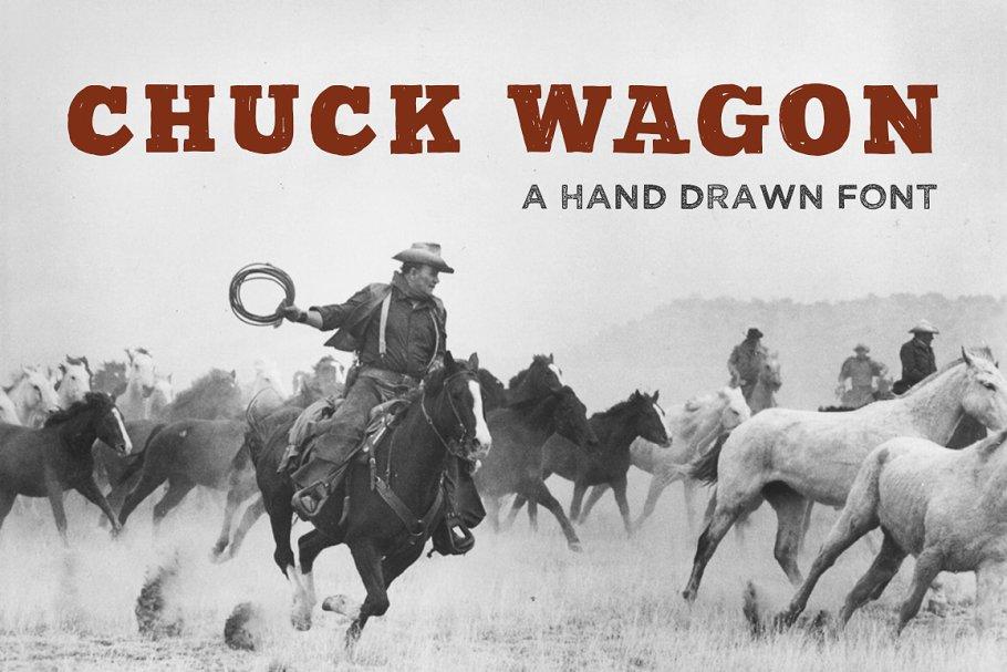 Chuck Wagon Wild West Font