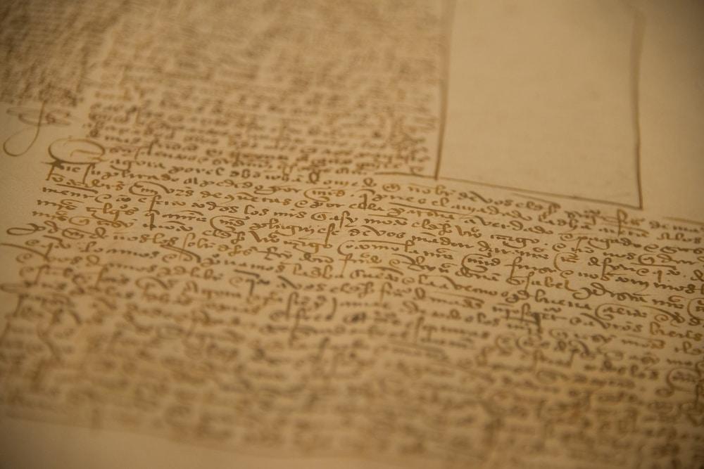 Medieval pirate manuscript