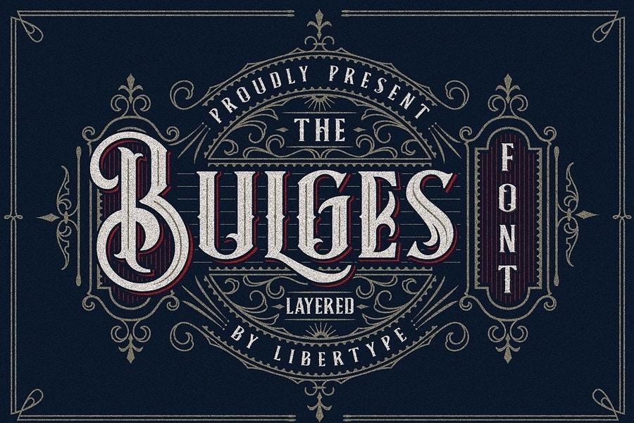 Bulges Victorian Era Signage