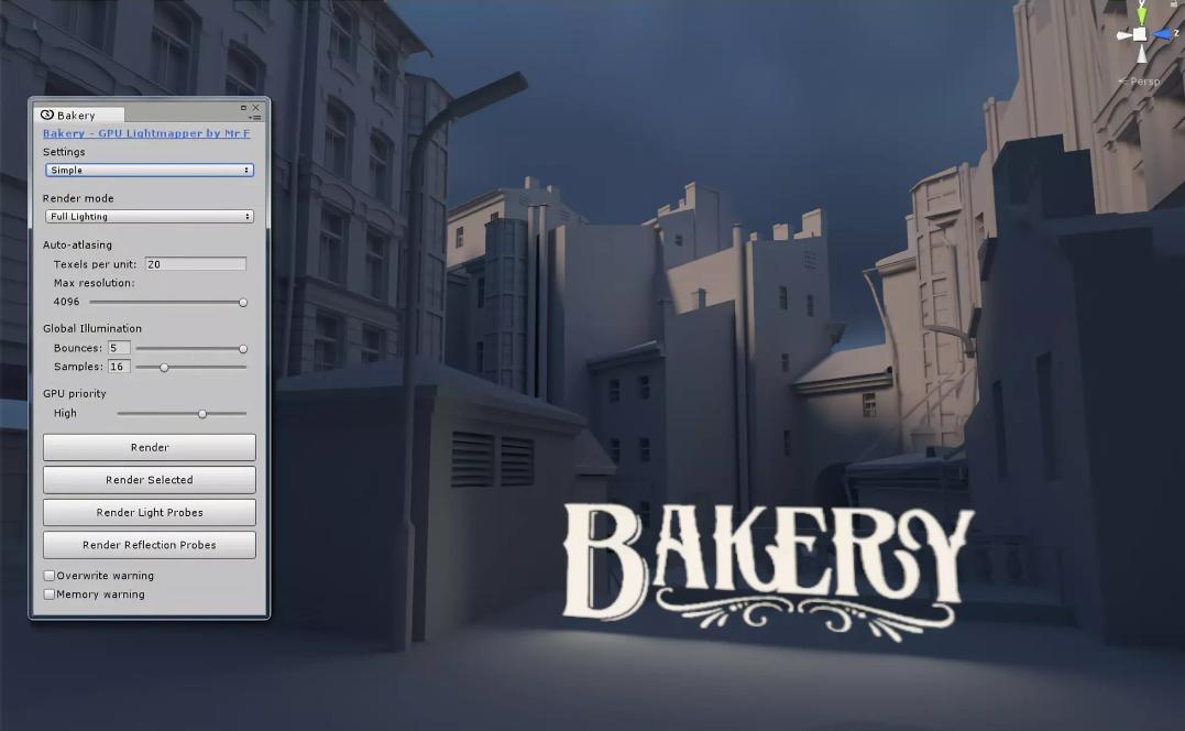 Bakery GPU LIghtmapper