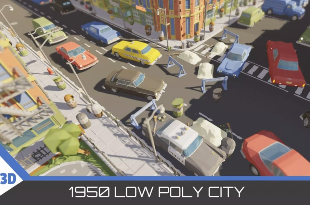1950-low-poly